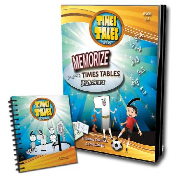 Times Tales DVD with Mini Flip Chart