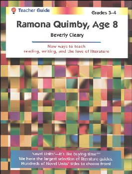 Ramona Quimby, Age 8 Teacher Guide