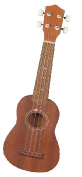All Wood Soprano Ukulele