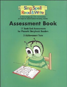 Sing, Spell, Read, and Write Assessment Book Homeschool Edition