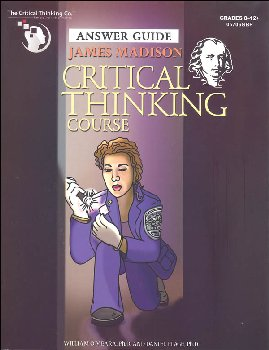 James Madison Critical Thinking Course, Teacher