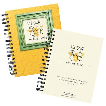Kid Stuff - My First Journal - Yellow