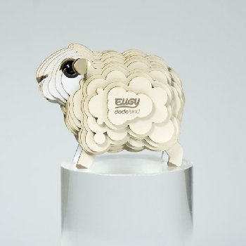 Eugy 3D Sheep Dodoland Model