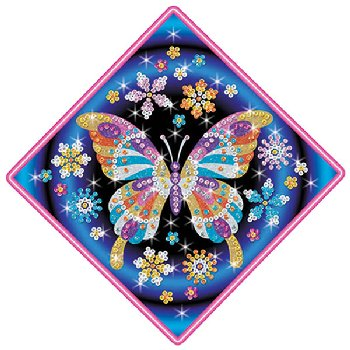 Sequin Art Stardust Butterfly