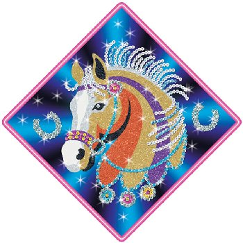Sequin Art Stardust Horse