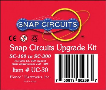 Snap Circuits Upgrade Kit SC-100 to SC-300