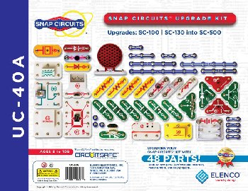 Snap Circuits Upgrade Kit SC-100 to SC-500