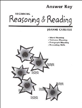 Beginning Reasoning & Reading Teacher Guide