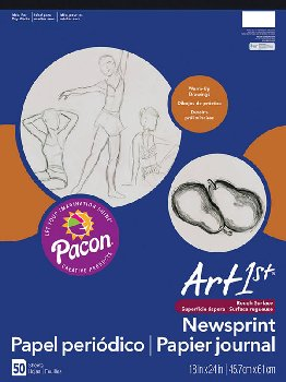 "Art1st Newsprint Pads (18"" x 24"") - 50 Sheets"