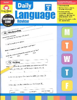 Daily Language Review Grade 2