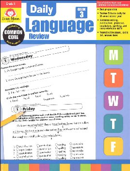 Daily Language Review Grade 3