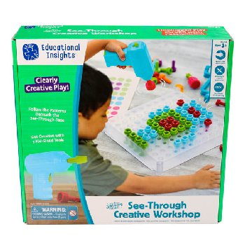 Design & Drill See-Through Activity Center