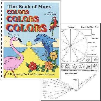 Book of Many Colors & paint packs