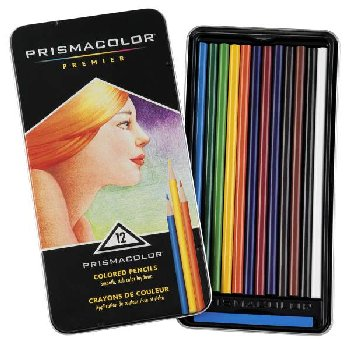 Prismacolor Colored Pencils 12 / set