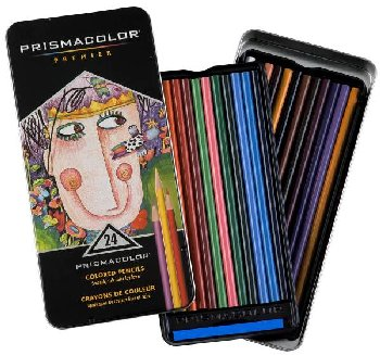 Prismacolor Colored Pencils 24 / set