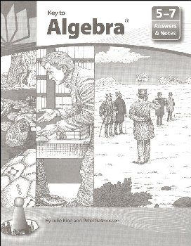 Key to Algebra Answers and Notes for Books 5-7