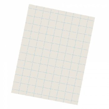 "Grid Ruled Drawing Paper, 1"" ruling - 9"" x 12"" (500 sheets)"