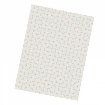 "Grid Ruled Drwg Paper,1/2"" rlg 9x12(500 shts)"