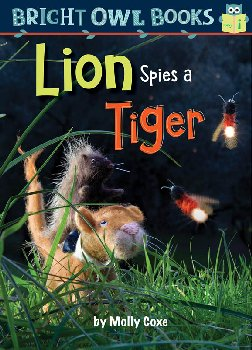 Lion Spies a Tiger: Long Vowel I (Bright Owl Book)