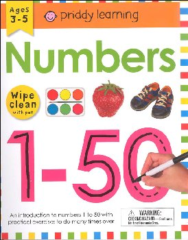 Numbers 1-50 Wipe Clean Workbook