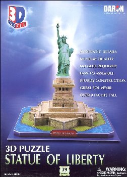 Statue of Liberty 3-D Puzzle