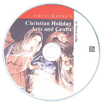 Visual Manna's Christian Holiday Arts and Crafts CD