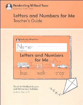 Handwriting without Tears Kindergarten Teacher Guide 2nd Edition