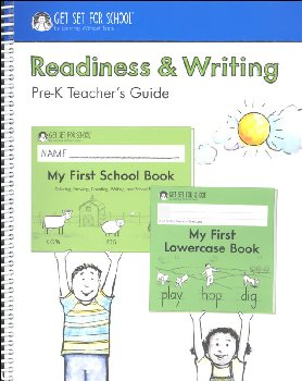 Readiness & Writing Pre-K Teacher Guide 7th Edition