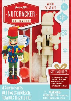 Mini Toymaker Wood Ornament & Paint Kit
