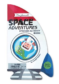Space Adventures Sticker Activity Book