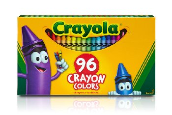Crayola Crayons 96 Count Box