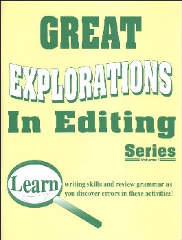 Great Explorations in Editing Super Sleuth Teacher