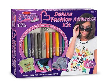 Deluxe Fashion Airbrush Kit