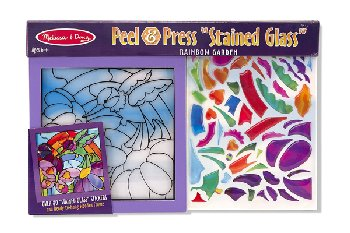"Peel & Press ""Stained Glass"" - Rainbow Garden"