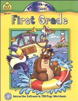 Pencil-Pal Software & Workbook First Grade