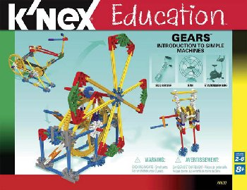 Intro to Simple Machines: Gears Set (198 Pieces)