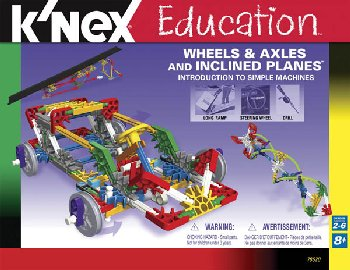 Intro to Simple Machines: Wheels, Axles and Inclined Planes Set (221 Pieces)