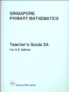 Primary Math US 2A Teacher Guide rev ed