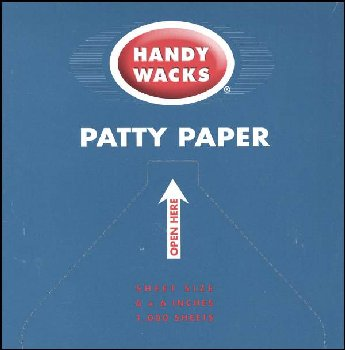 "Patty Papers, 1000 sheets (6"" x 6"") (45015)"