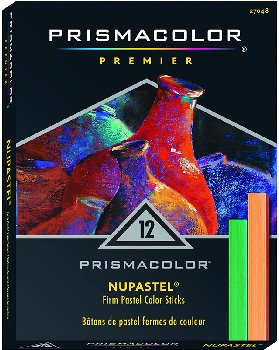 Prismacolor Premier Nupastel Hard Pastels (Set of 12)