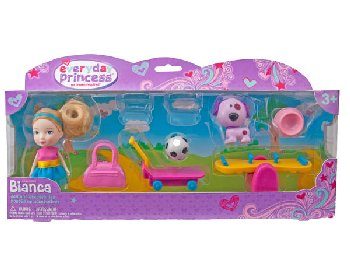 Everyday Princess Bianca Doll Outdoor Activity Set