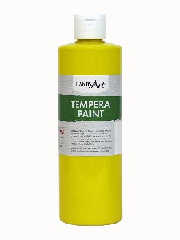 Yellow Tempera Paint 16 oz.
