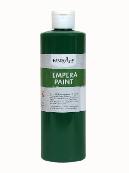 Green Tempera Paint 16 oz.