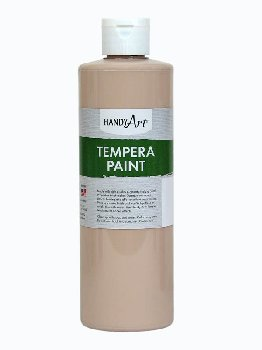 Peach Tempera Paint 16 oz.