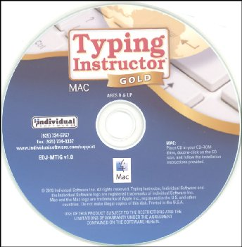 Typing Instructor Platinum (Mac Version) in paper sleeve