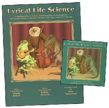 Lyrical Life Science Vol. 1 text and CD