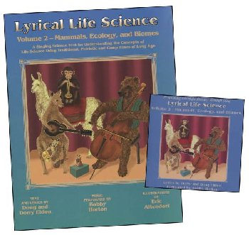 Lyrical Life Science Vol. 2 text and CD