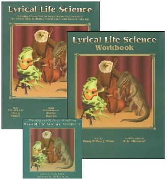 Lyrical Life Science Volume 1 set w/ CD