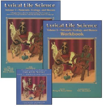 Lyrical Life Science Volume 2 set w/ CD