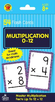 Brighter Child Flash Cards - Multiclication 0-12